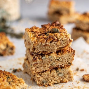 Recipe: Red Date and Pumpkin Seed Flapjacks - GF & Vegan