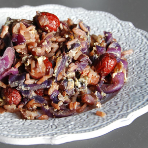 Comforting Red Cabbage and Jujubes Stir Fry