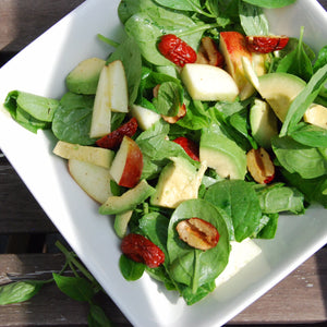 Refreshing Jujube Spinach Salad – GF, DF, V