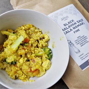 Recipe: Vegan Egg Fried Rice - GF, Vegan