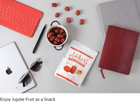 Enjoy Jujube Fruit as a Snack