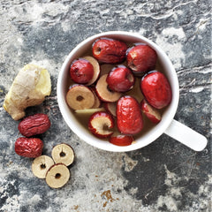 Red Date Jujube Ginger Tea