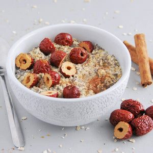 red dates jujube fruit porridge