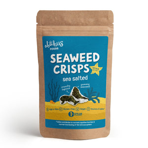 5 x Bulk Bag Seaweed Crisps, Sea Salted (5 x 60 grams)