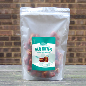 Bulk Bag: 500 grams Walnuts Stuffed Red Dates