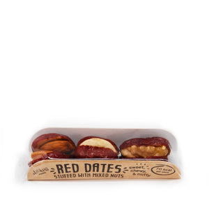 Red dates / jujube fruit stuffed with mixed nuts