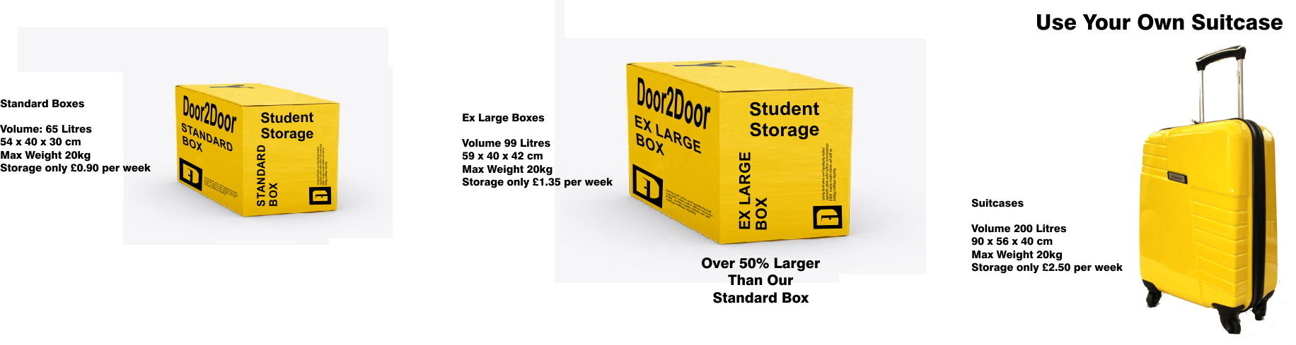 Student Storage Options