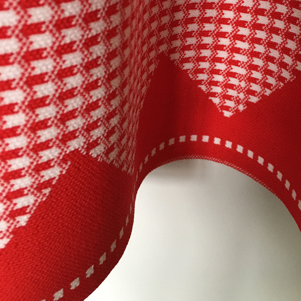 Cubic - Red checkered dress