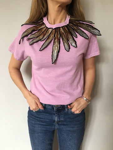 Ragyard - feather t shirt