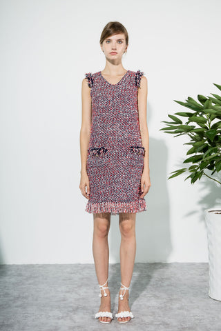 Cubic Palmero tweed dress