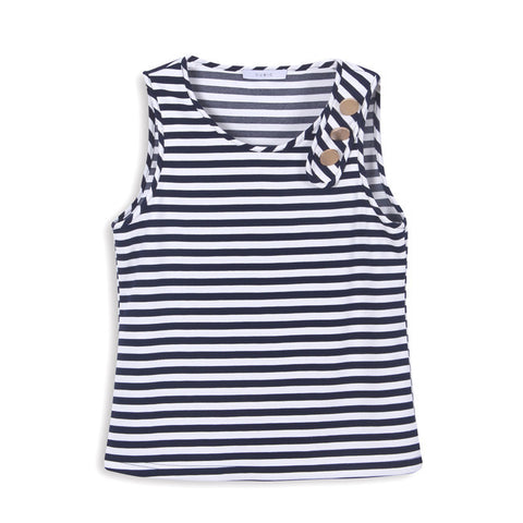 Cubic Striped sailor top