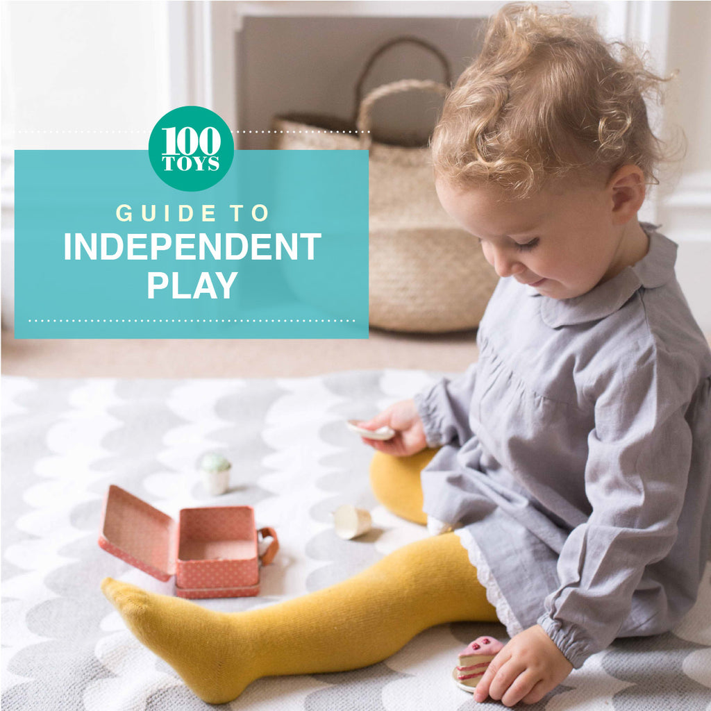 100 Toys Guide to Independent Play Book Cover