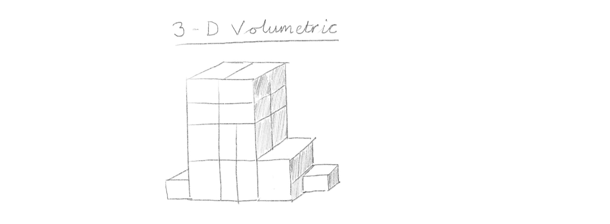 3-D volumetric block constructions