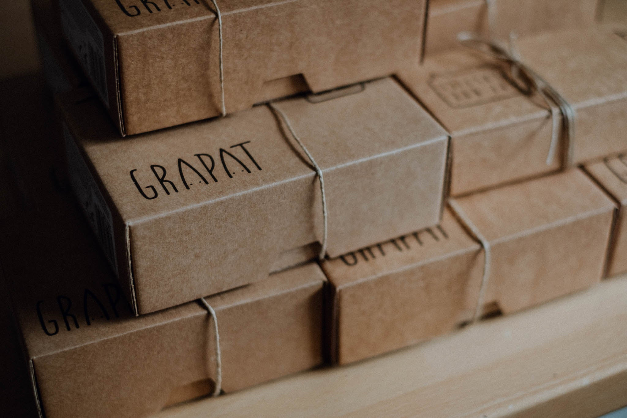 Grapat #noplanetb plastic-free products and packaging