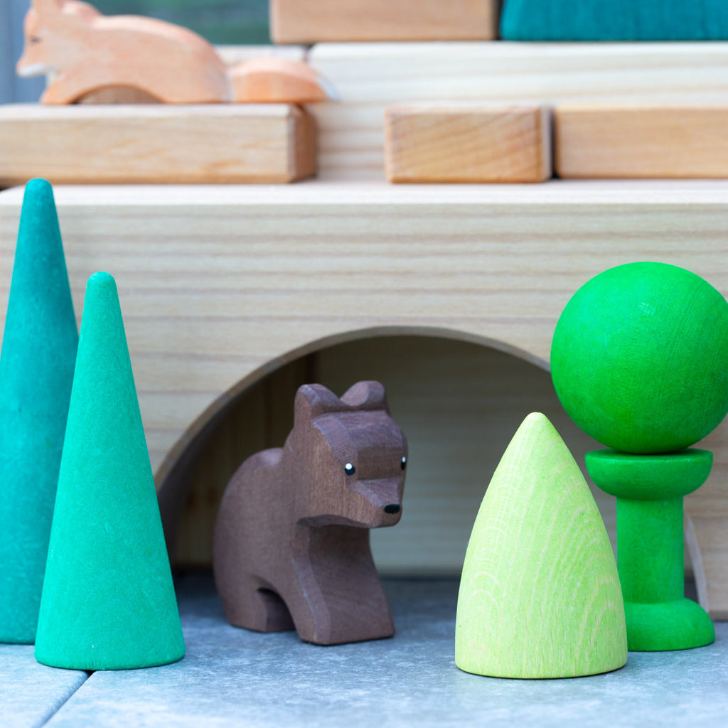 Grimm's giant building blocks with Ostheimer bear