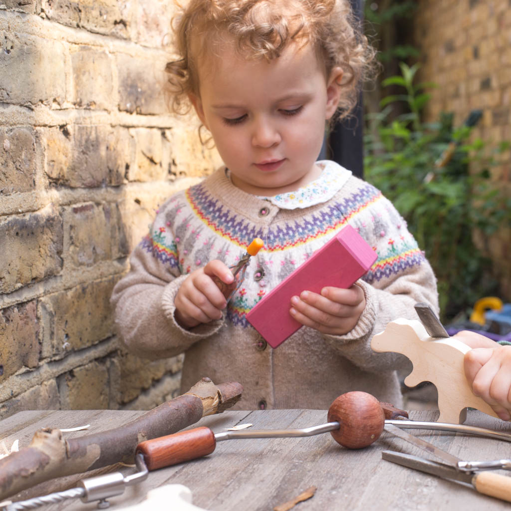 Forest school fun in your garden with HABA tools