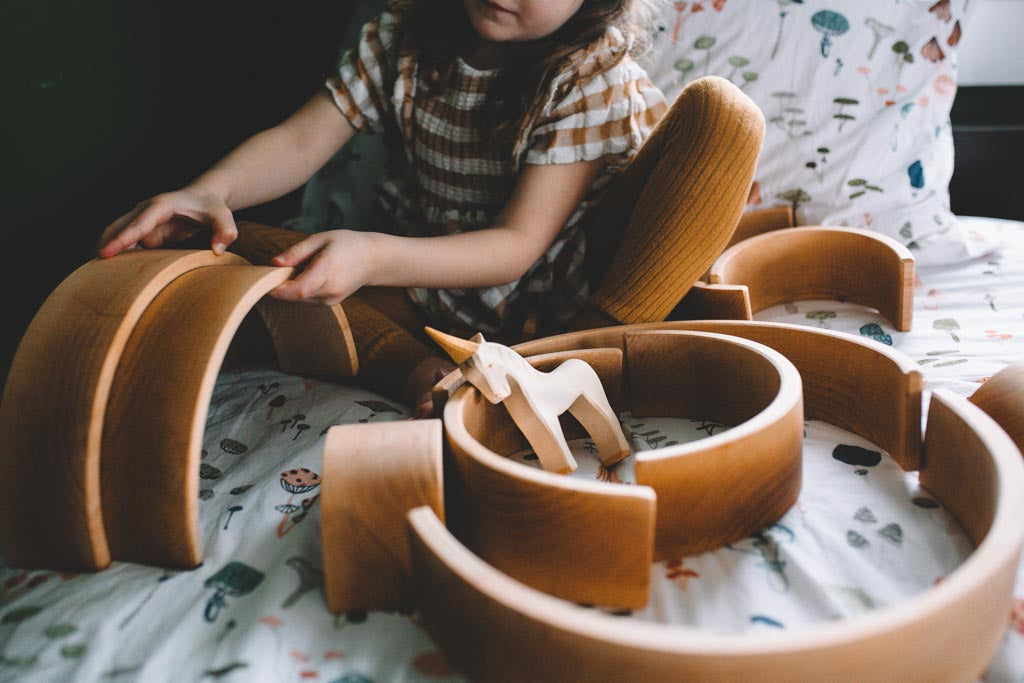 Fewer toys encourages greater creativity