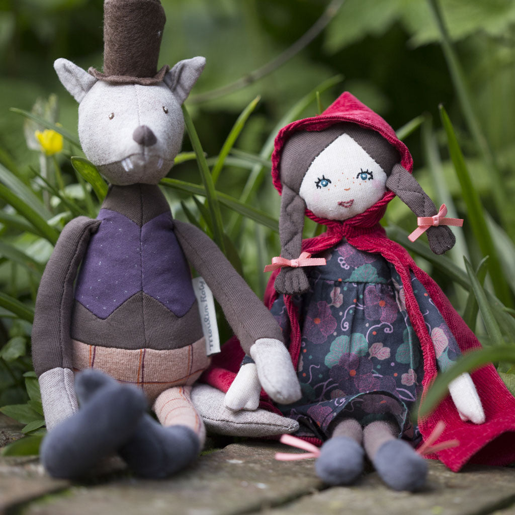 Moulin Roty Little Red Riding Hood and Gentleman Wolf