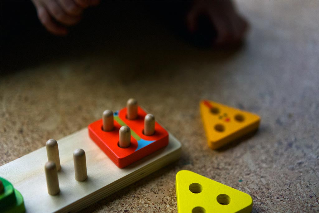 A shape puzzle for sorting and classifying