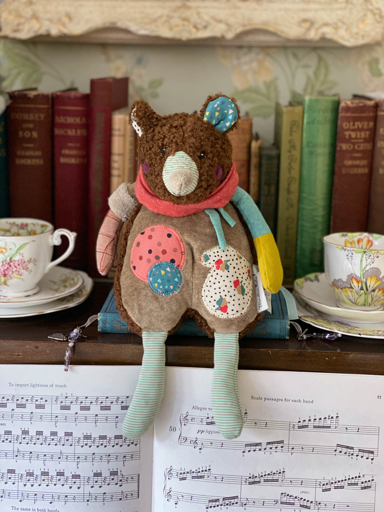 Moulin Roty musical bear