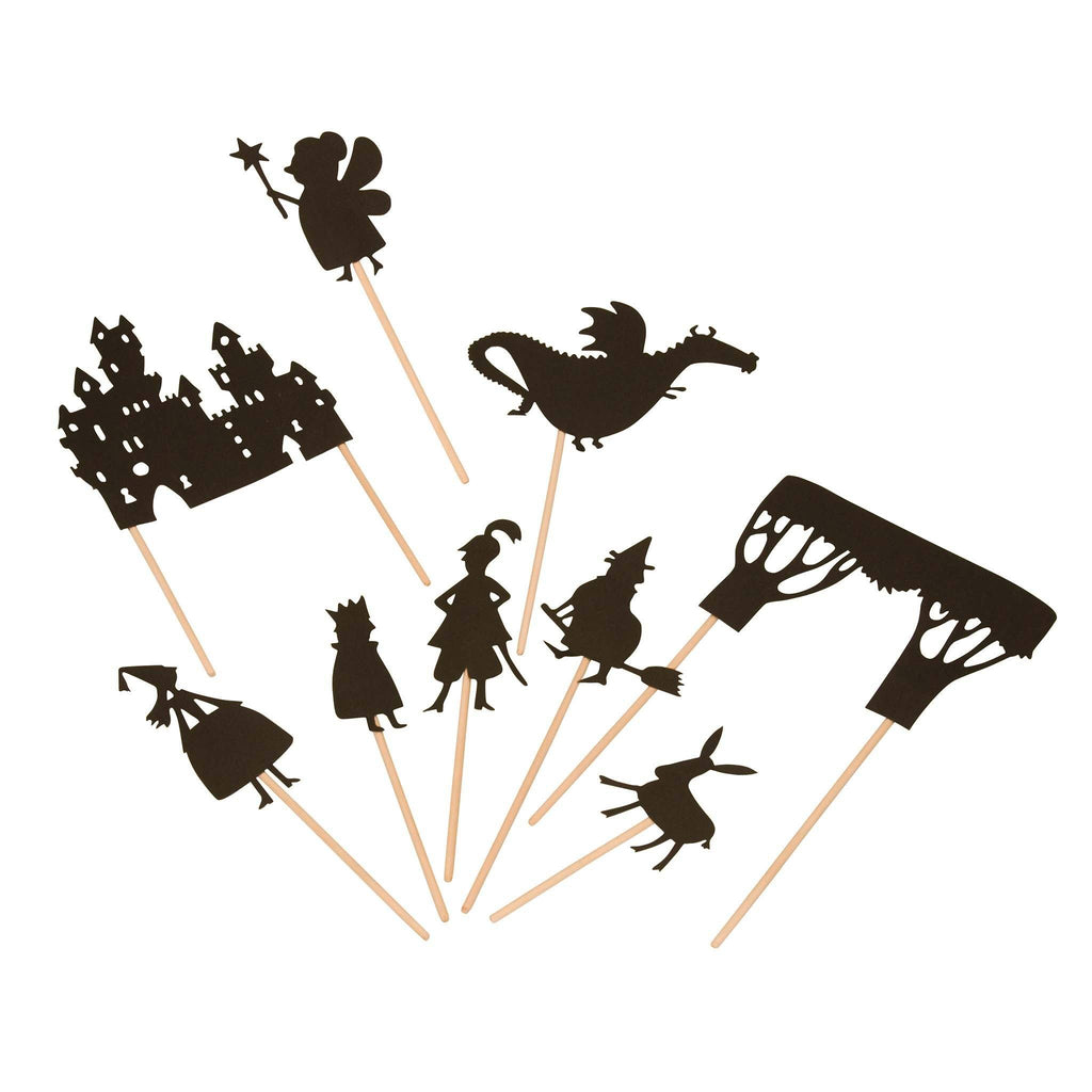 Moulin Roty Night-time shadow puppets: castle