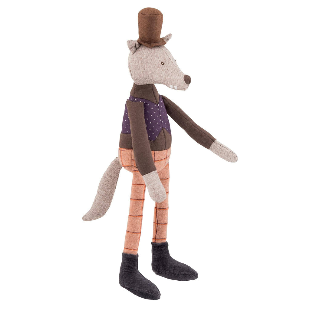 Moulin Roty miniature gentleman wolf