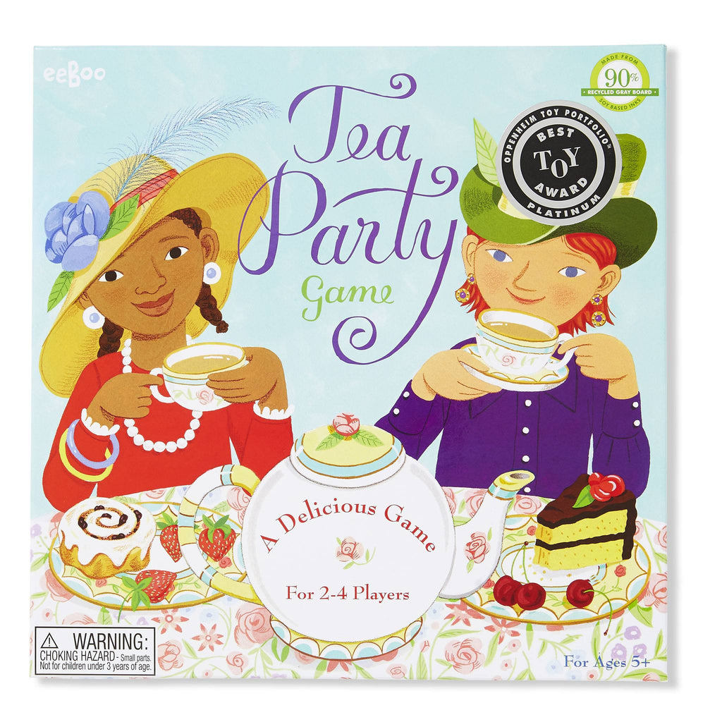eeBoo Tea Party