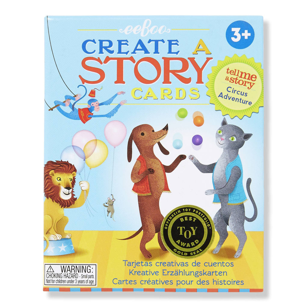 eeBoo Create a Story Cards - Circus Adventure