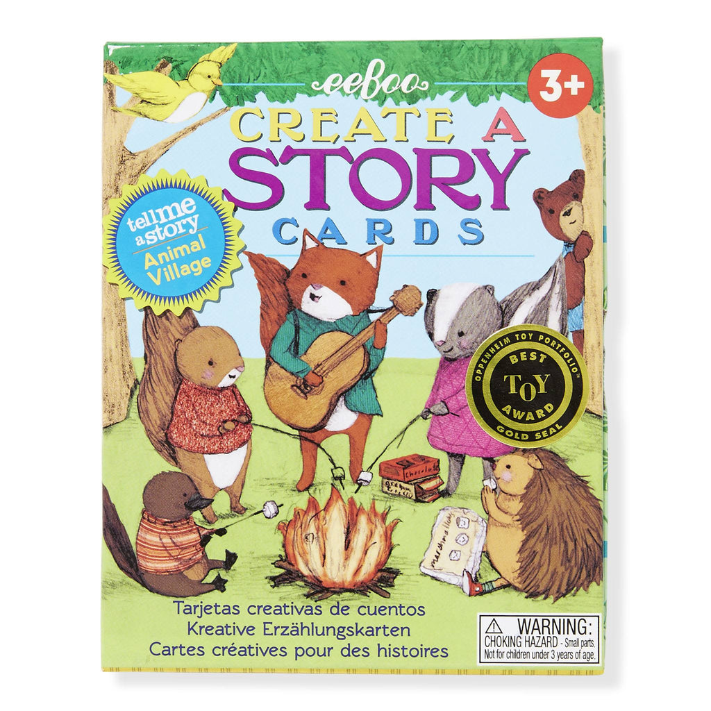 eeBoo Create a Story Cards - Animal Village