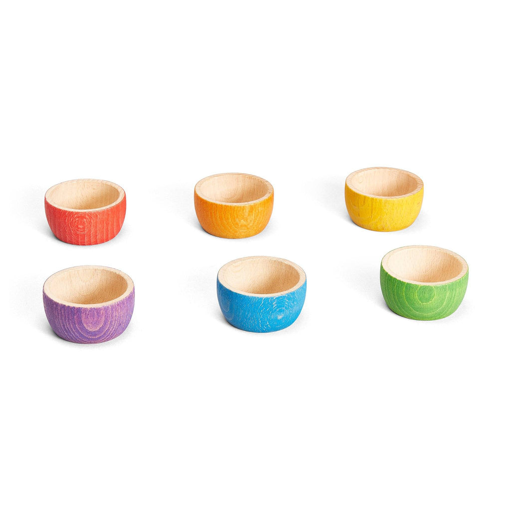 Grapat Colourful Wooden Bowls [6]