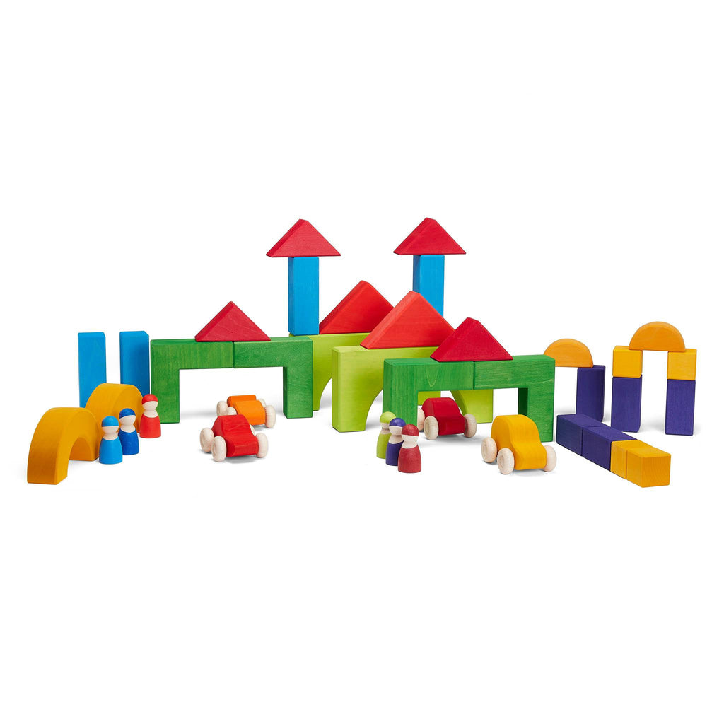 Grimm's Basic Building Block Set Geometrical Shapes