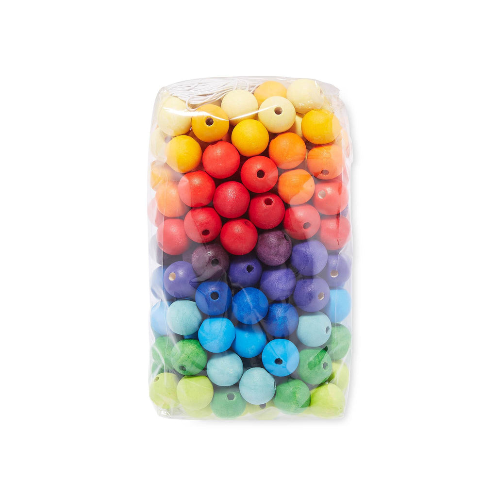 Grimm's GR10230 20mm Coloured Threading Beads [180]