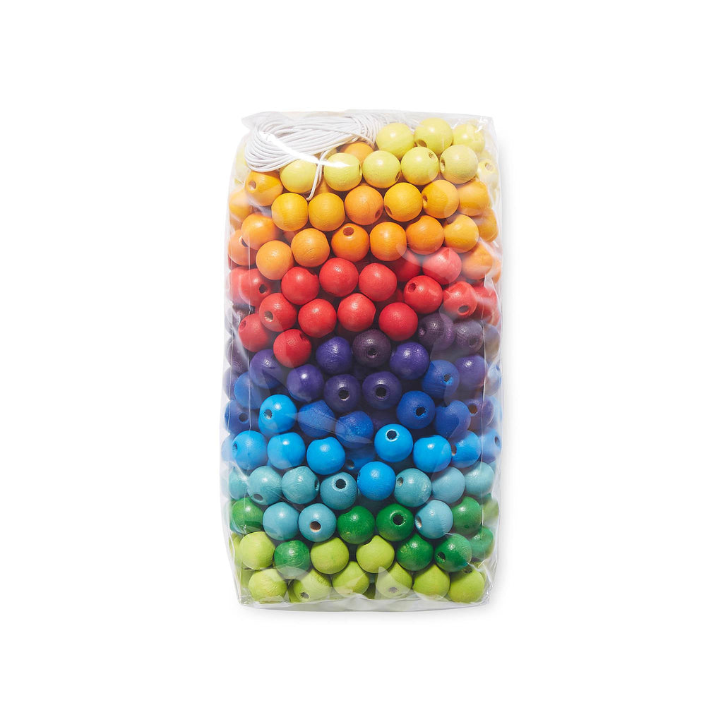Grimm's 12mm Coloured Threading Beads [480]