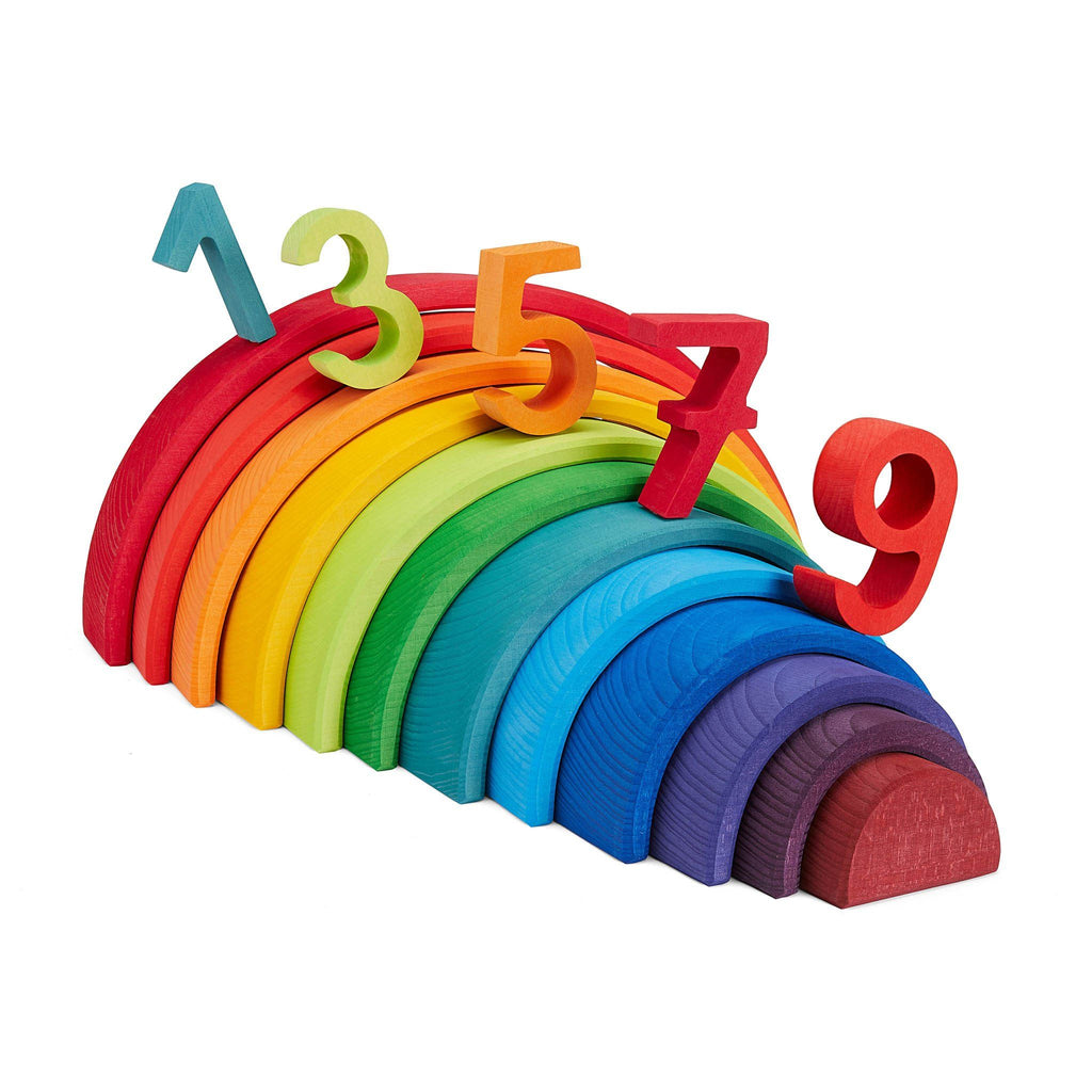 Grimm's Large Rainbow [12 Pieces] Caves And Dens