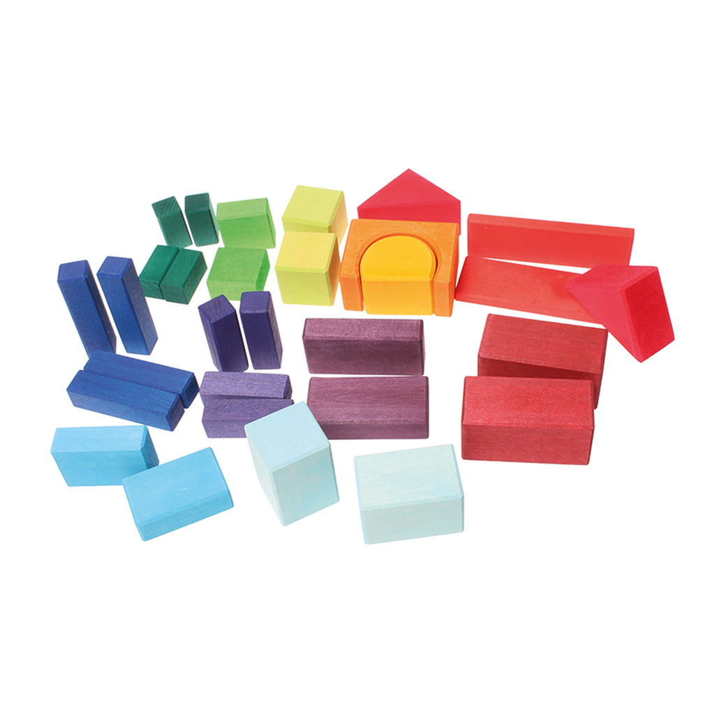 Grimm's Coloured Geo Blocks [30] Playtime