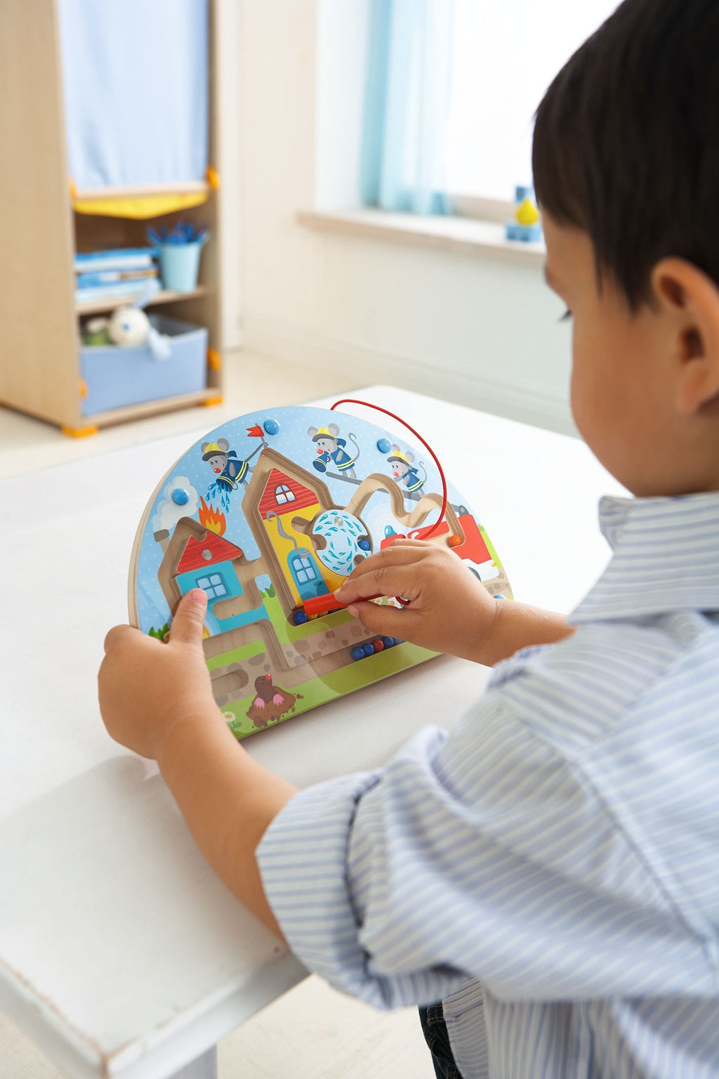 HABA Magnetic Game Mice Fire Brigade