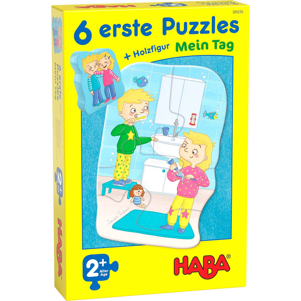 HABA 6 Little Hand Puzzles My Day