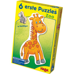 HABA 6 Little Hand Puzzles Zoo