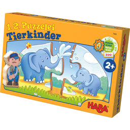 HABA One Two Puzzle To Do Animal Kids