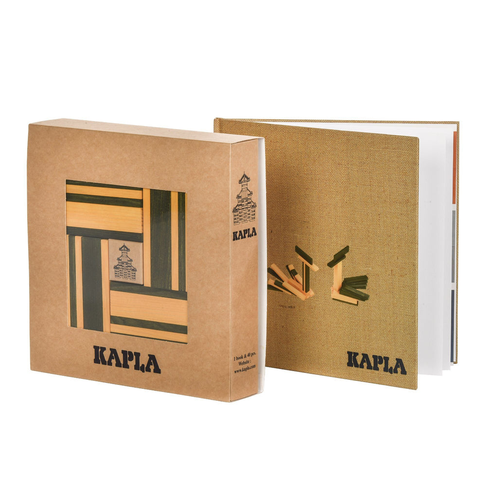 Kapla Art Book And Colours [Green And Yellow]