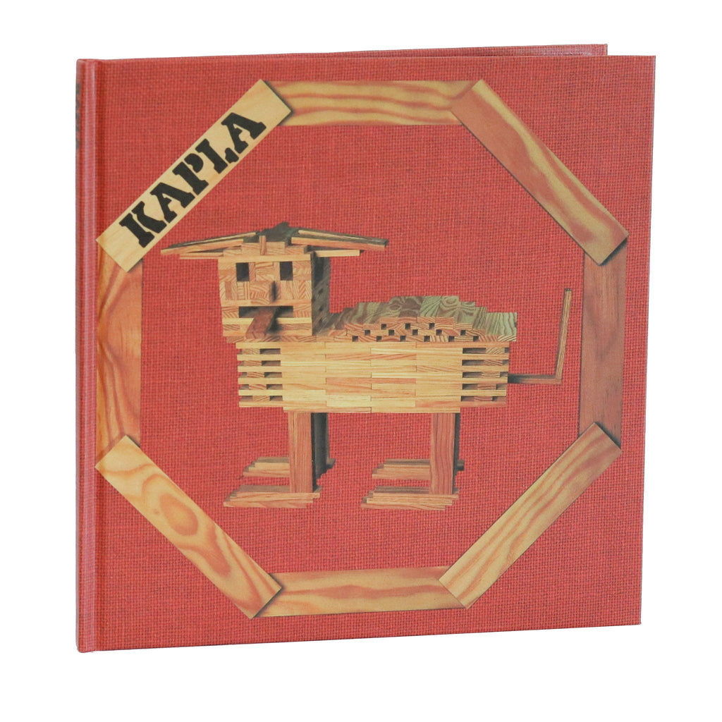 Kapla Art Book : Animals And Architecture [Beginners]