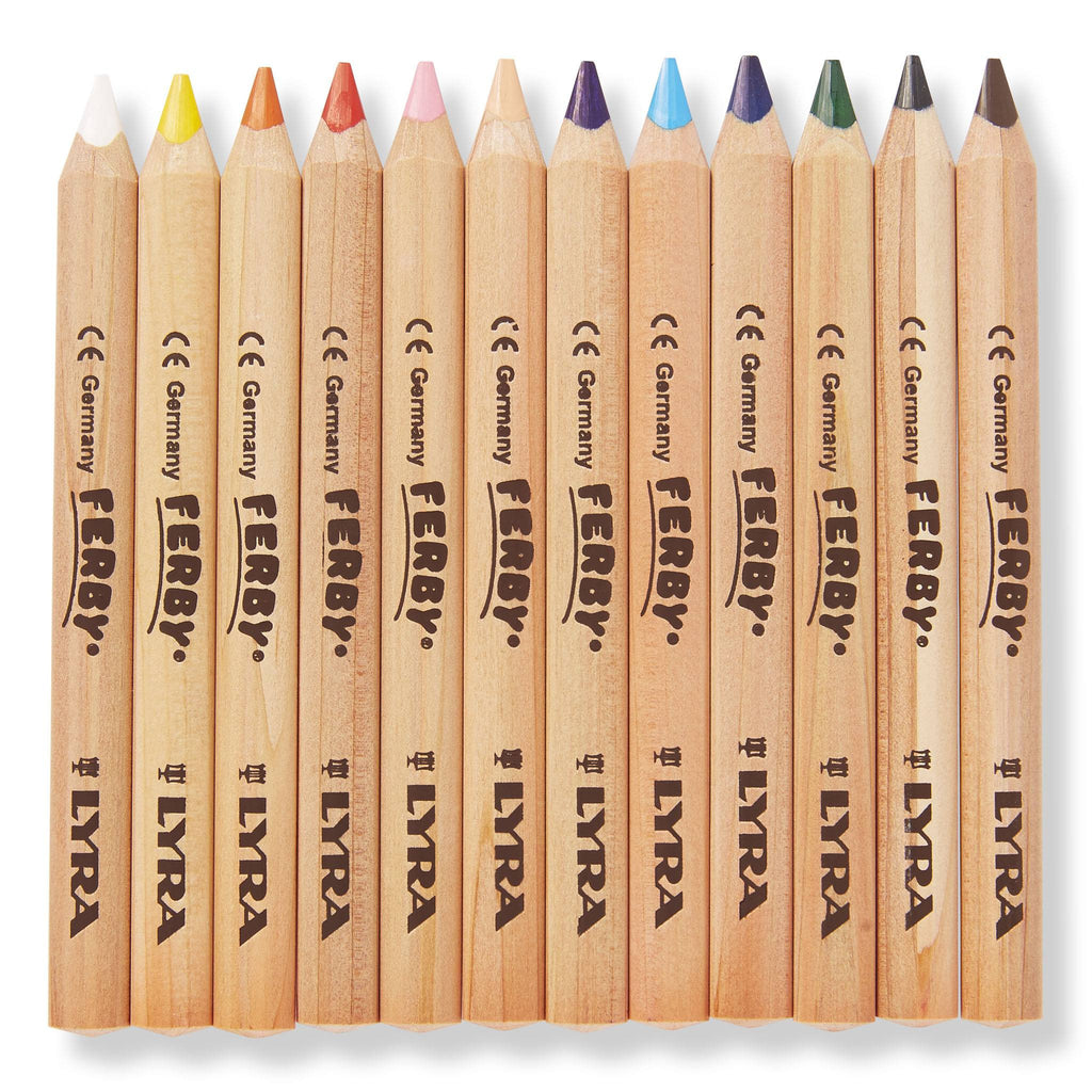Lyra Ferby Unlacquered Pencils 12