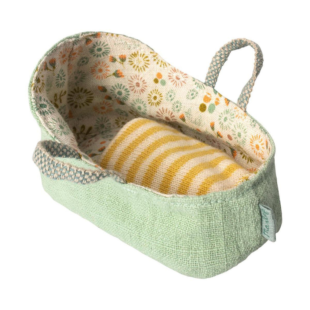 Maileg Carry Cot My - Mint