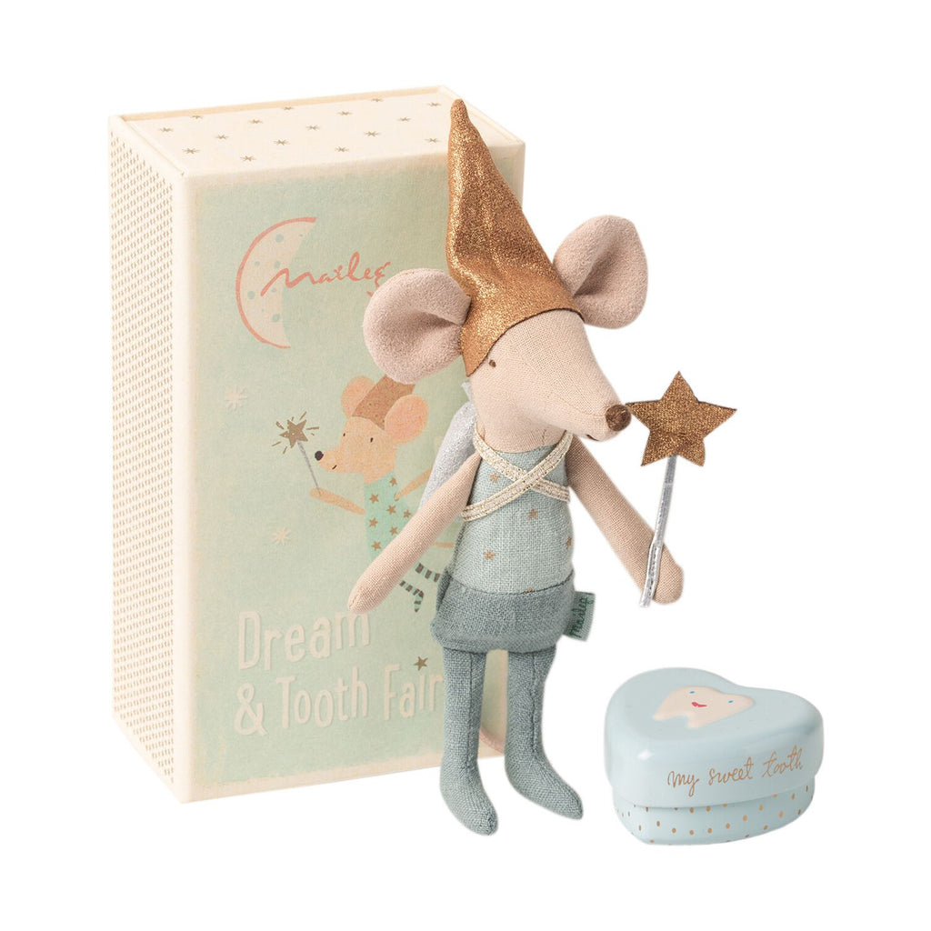 Maileg Tooth Fairy Mouse In Matchbox Big Brother