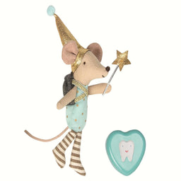 Maileg Tooth Fairy Big Brother Mouse W. Metal Box 1