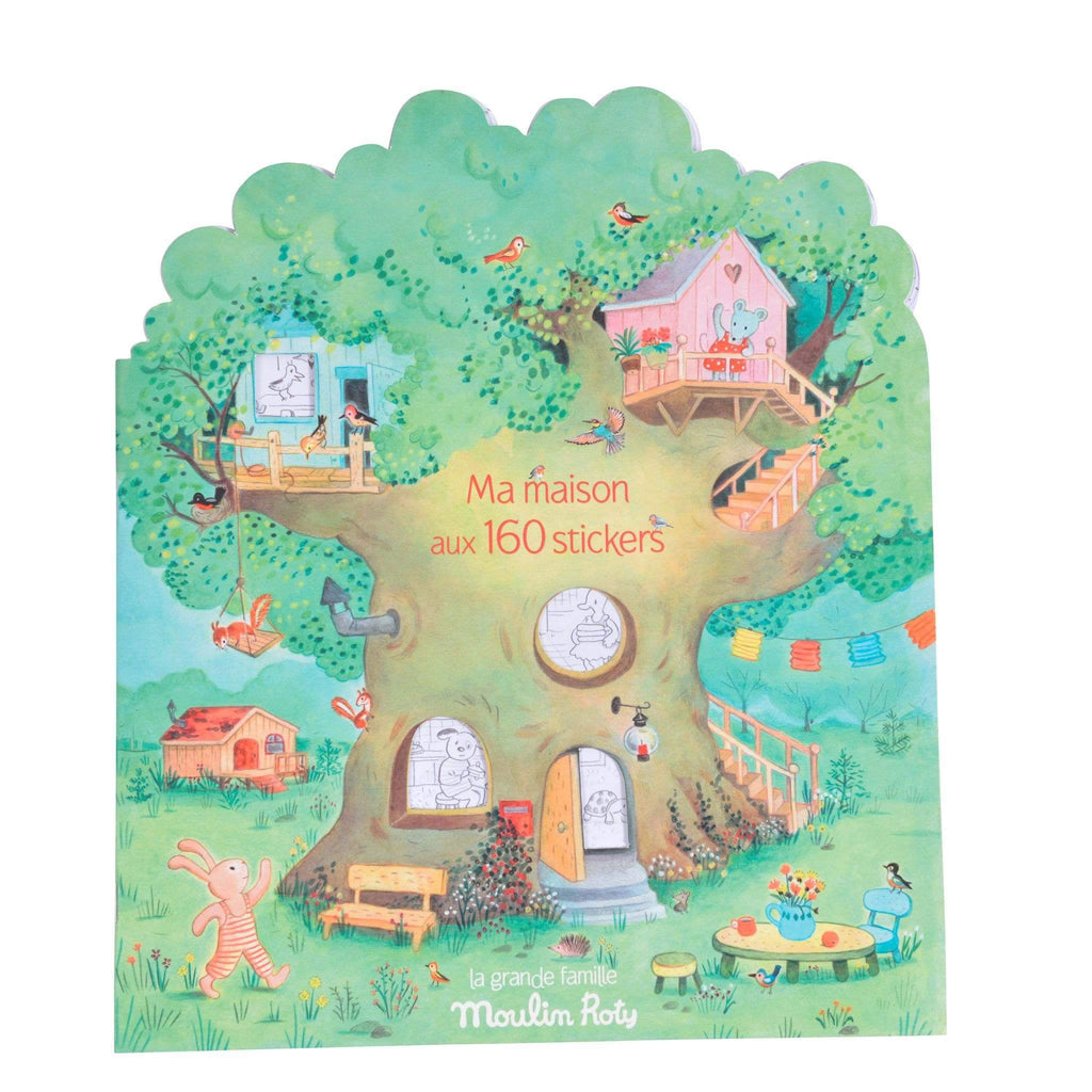 Moulin Roty Sticker Book La Grande Famille