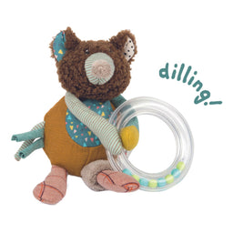 Moulin Roty Bear Ring Rattle