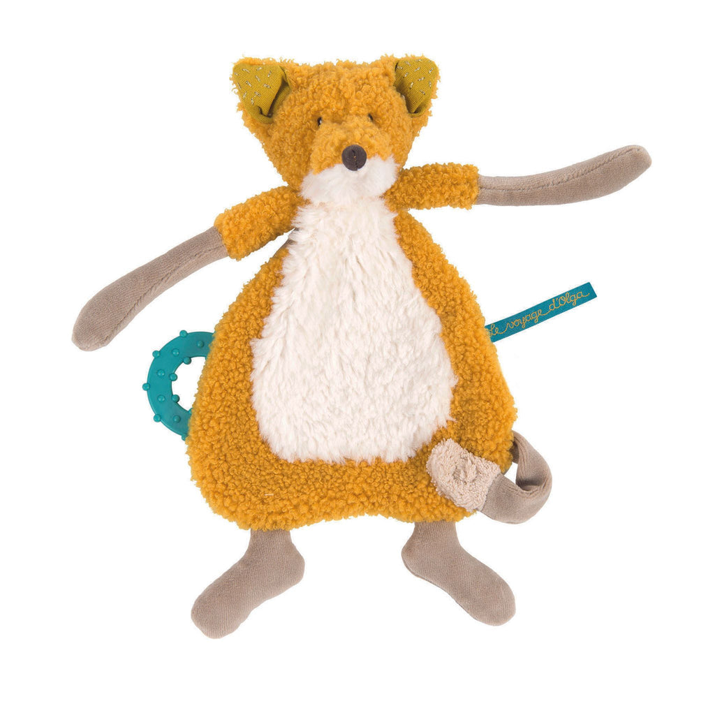 Moulin Roty Chaussette The Fox Comforter With Soother Holder