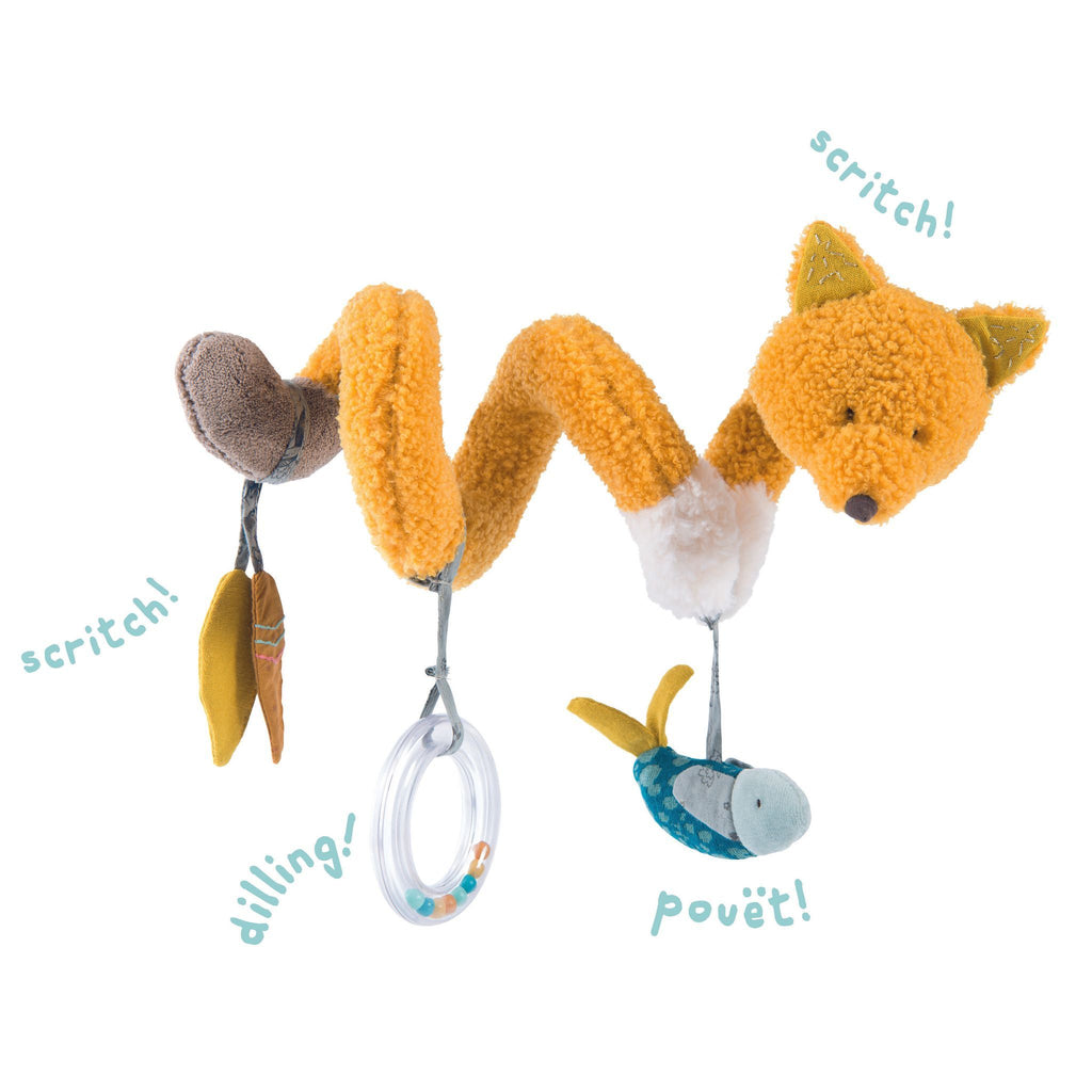 Moulin Roty Chaussette The Fox Activity Spiral