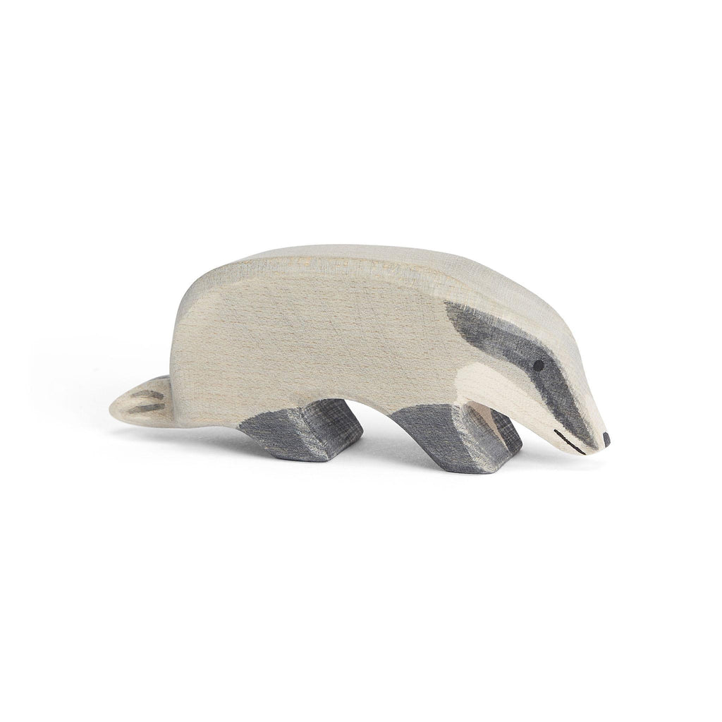 Ostheimer Badger with Head Down